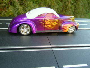 Hot Rod purple flame bild3