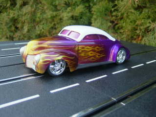 Hot Rod purple flame bild4