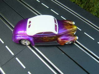 Hot Rod purple flame bild5